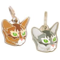 pet tags MjavHov - Abyssinian