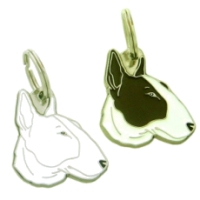 pet tags MjavHov - BULL TERRIER