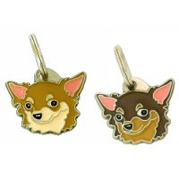 pet tags MjavHov - CHIHUAHUA LONG HAIRED