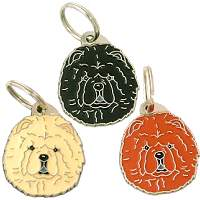 pet tags MjavHov - CHOW CHOW