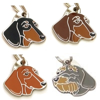 pet tags MjavHov - Dachshund