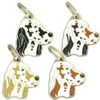 pet tags MjavHov - ENGLISH SETTER