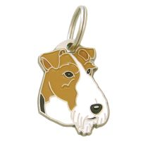 pet tags MjavHov - FOX TERRIER