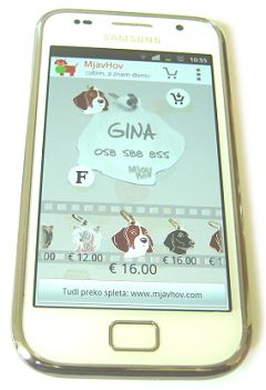 Create and order pet tags with laser engraving texts from your PC, Android phone or tab.