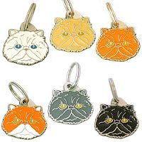pet tags MjavHov - Persian cat