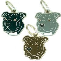 pet tags MjavHov - STAFFORDSHIRE BULLTERRIER