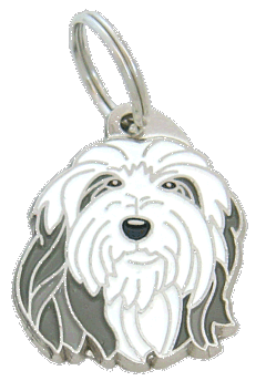 pet tag-BEARDED COLLIE