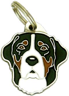 pet tag-GREATER SWISS MOUNTAIN DOG