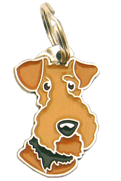 pet tag-AIREDALE TERRIER