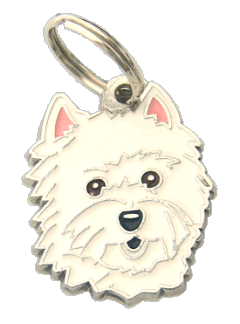 pet tag-WEST HIGHLAND WHITE TERRIER
