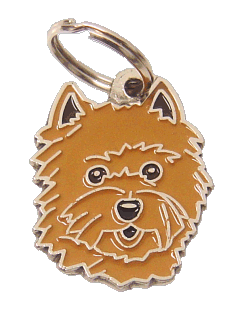 pet tag-CAIRN TERRIER RED