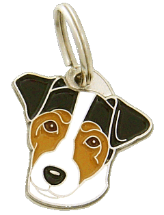 pet tag-RUSSELL TERRIER TRICOLOR