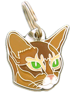 pet tag-Abyssinian