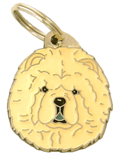 pet tag-CHOW CHOW CREAM