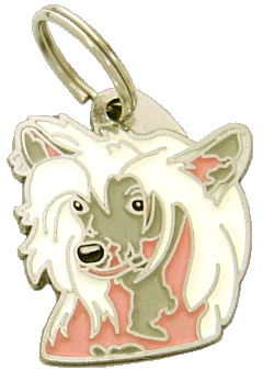 pet tag-CHINESE CRESTED DOG