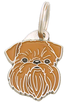 pet tag-BRUSSELS GRIFFON